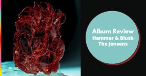 Hammer & Blush Album Artwork (a Glass heart)